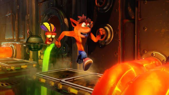 Crash Bandicoot es el juego más vendido la última semana en Reino Unido