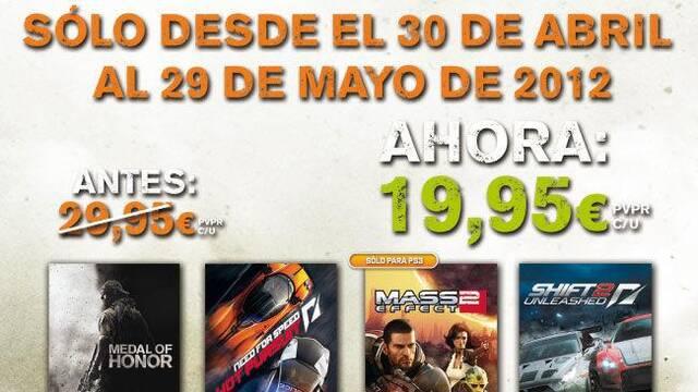 Numerosos lanzamientos de Electronic Arts rebajan su precio por tiempo limitado