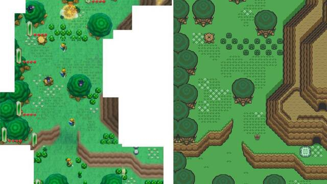 Comparan el nuevo The Legend of Zelda con A Link to the Past en una imagen