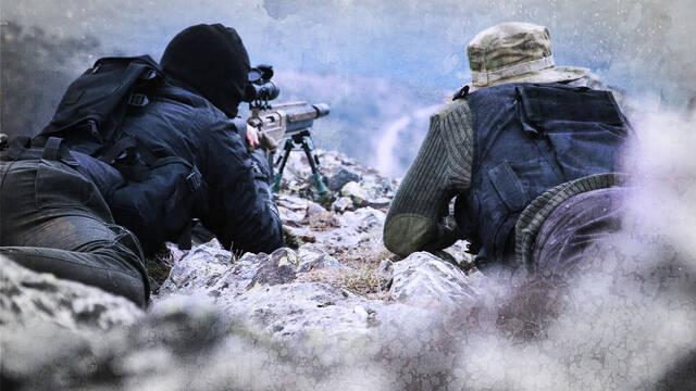 Un grupo de espa�oles prepara un corto de Modern Warfare