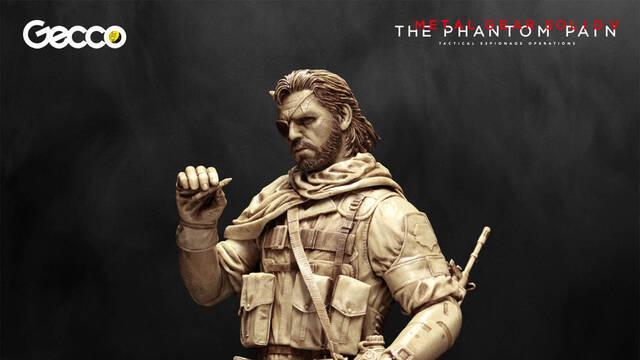 Gecco muestra la figura de Venom Snake de Metal Gear Solid V