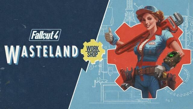 Fallout 4 muestra el tráiler de su expansión 'Wasteland Workshop'