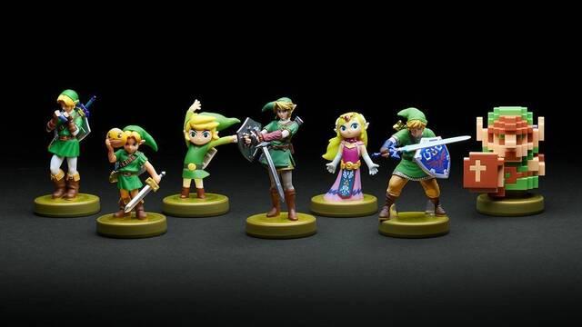 Se muestran en detalle los nuevos amiibo del 30º aniversario de Zelda