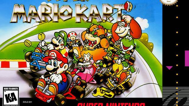Super Mario Kart nació como un prototipo de F-Zero multijugador