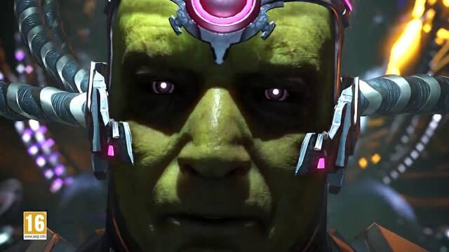 Injustice 2 nos enseña al temible Brainiac en su nuevo tráiler