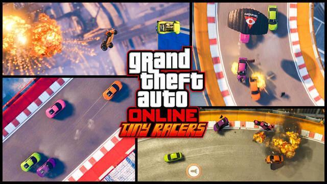 GTA Online presenta sus carreras en miniatura con el contenido Tiny Racers