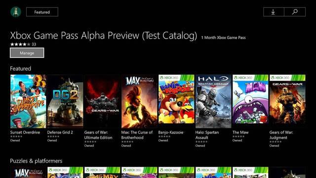 La alpha de Xbox Game Pass termina el 28 de abril