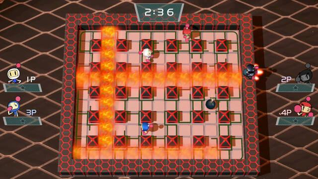 Super Bomberman R se actualiza de forma gratuita con más niveles y cambios