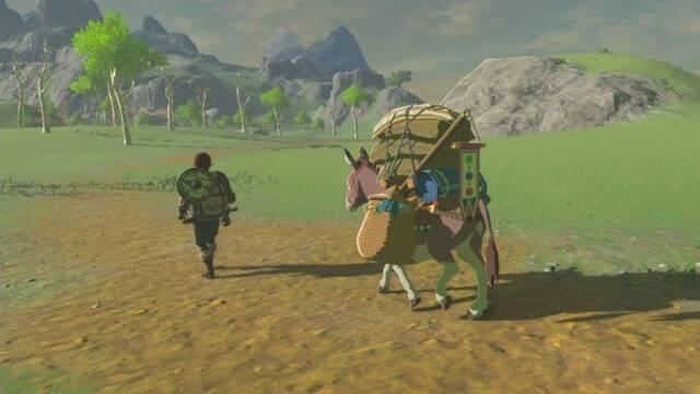 La nueva imagen de Zelda: Breath of the Wild nos presenta a un viajero