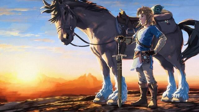 Descubren cómo cabalgar a toda velocidad sin fin en Zelda: Breath of the Wild