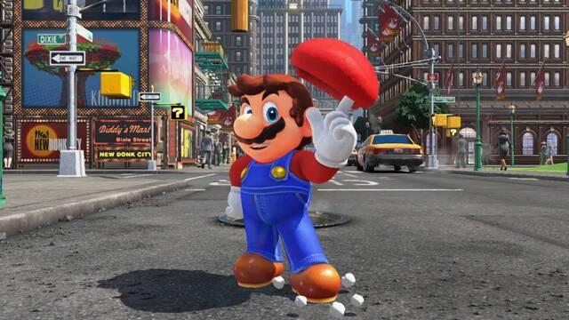 Un error permite al segundo jugador matar a Mario en Super Mario Odyssey