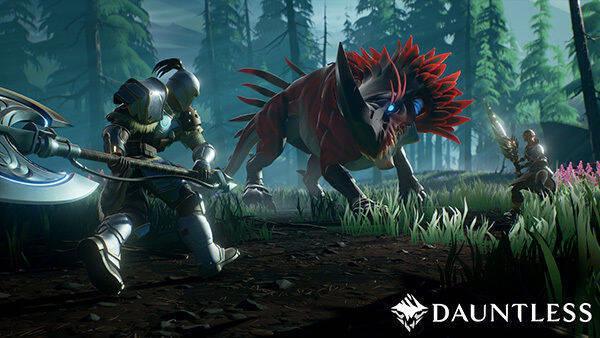 Los creadores de Dauntless celebran Monster Hunter World