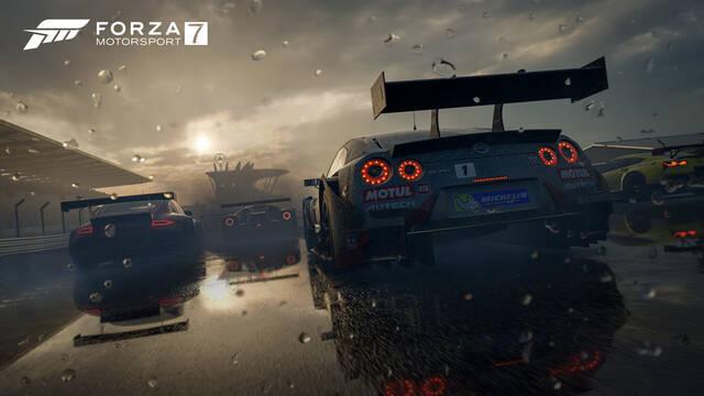 Forza Motorsport 7 exprimirá los 4K en Xbox One X