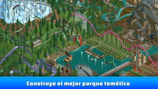RollerCoaster Tycoon Classic llega a los dispositivos móviles