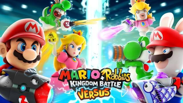 Mario + Rabbids Kingdom Battle se actualizará mañana con el modo Versus