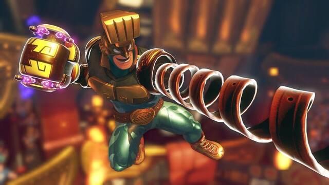 Max Brass será jugable en ARMS con una futura actualización