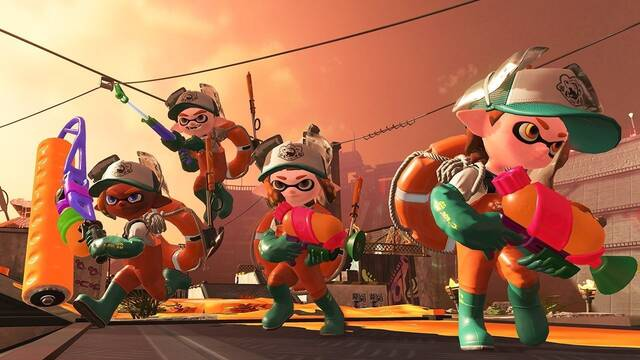 Splatoon 2 ocupará 5,5 GB en Nintendo Switch