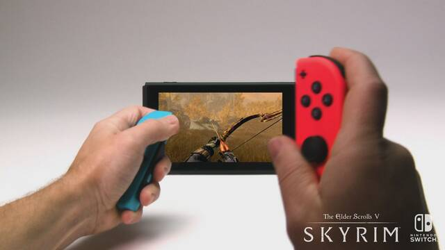 The Elder Scrolls V: Skyrim llega a Switch el 17 de noviembre