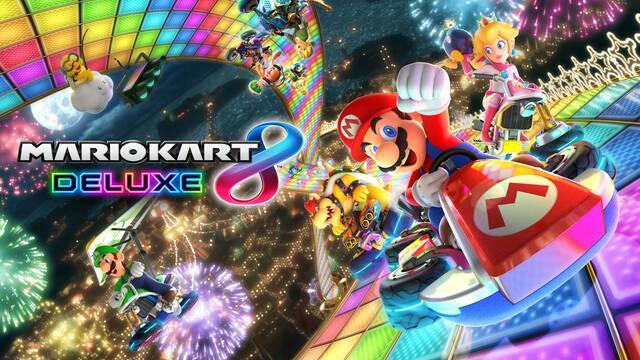 Así son las batallas de Mario Kart 8 Deluxe