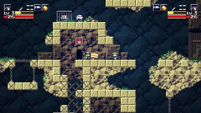 Cave Story+ en Switch ya tiene disponible el modo cooperativo
