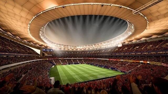 El Wanda Metropolitano será uno de los nuevos estadios de FIFA 18