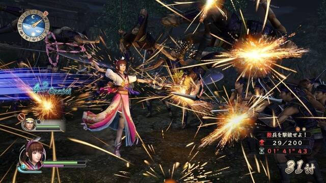 Samurai Warriors: Spirit of Sanada llegará a PS4 y PC el 26 de mayo