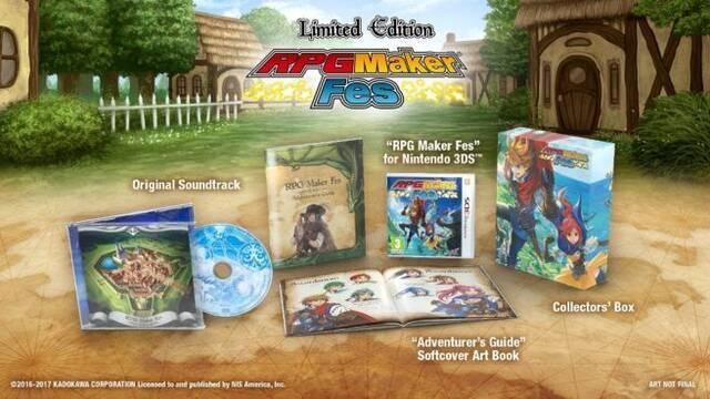 Ya disponible la reserva de la edición para coleccionistas de RPG Maker Fes