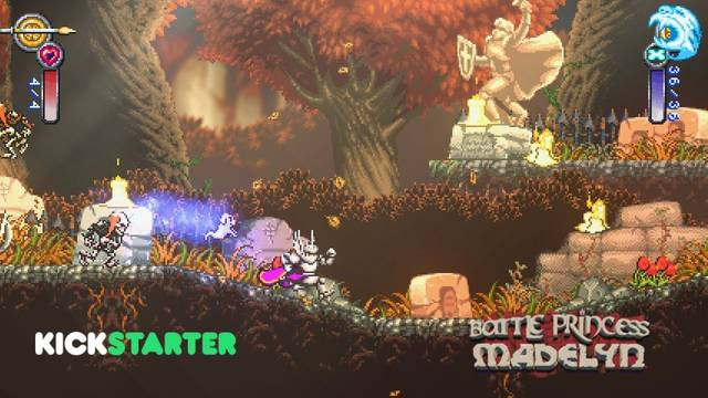 Battle Princess Madelyn logra financiarse en Kickstarter