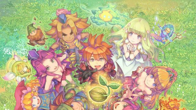 Square Enix anuncia Seiken Densetsu Collection para Switch