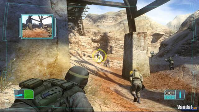 Nuevas imágenes de Ghost Recon 3 para Xbox 360