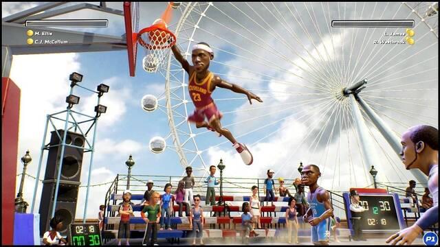 Desvelados los jugadores de NBA Playgrounds