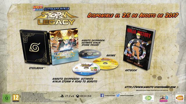 Naruto Shippuden: Ultimate Ninja Storm Legacy y Trilogy llegarán el 25 de agosto