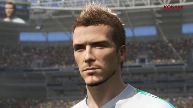 David Beckham ficha por Pro Evolution Soccer