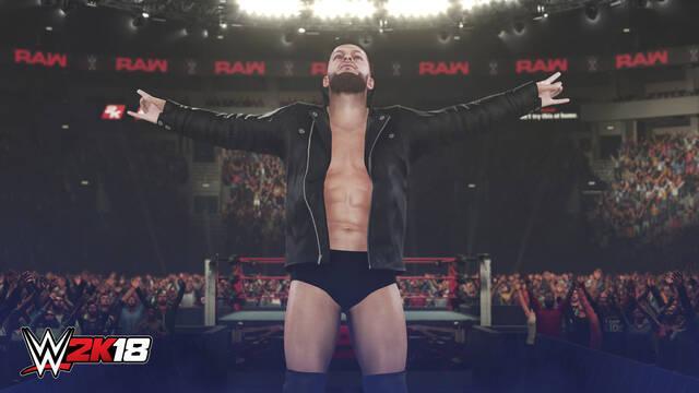WWE 2K18 ya está disponible para PS4 y Xbox One en acceso anticipado