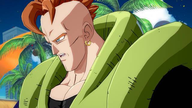 Dragon Ball FighterZ muestra al temible Androide 16 en vídeo
