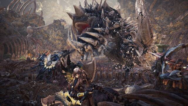 Monster Hunter World tendrá beta en diciembre para suscritos a PS Plus