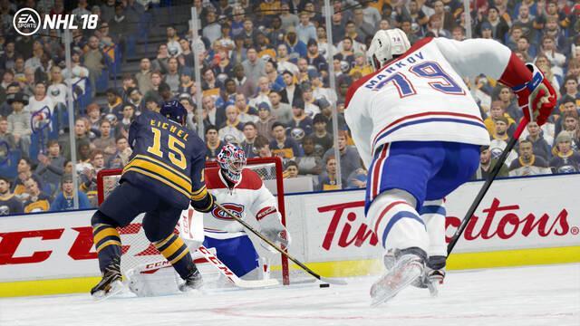 NHL 18 nos presenta su tráiler de lanzamiento