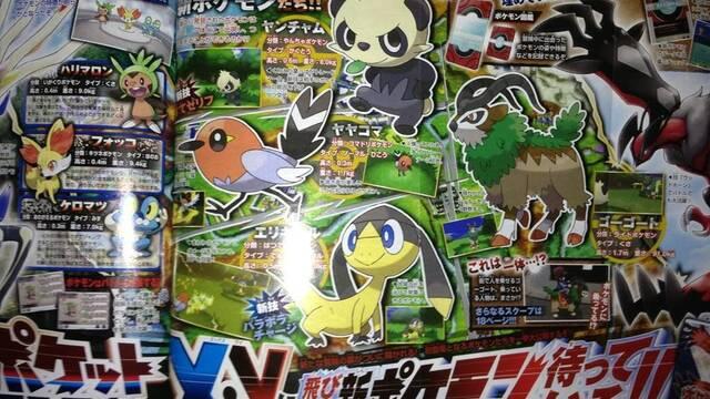 Presentadas cuatro nuevas criaturas de Pokémon X/Y