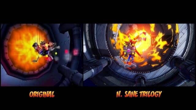 Un nuevo vídeo compara Crash Bandicoot N. Sane Trilogy con el original
