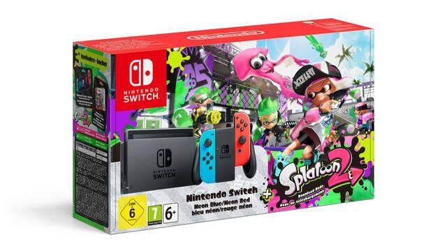 Nintendo Switch tendrá pack con Splatoon 2