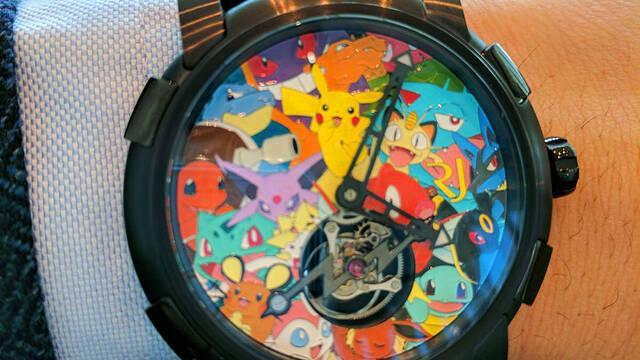 Pokémon tendrá un reloj de lujo por 230.000 euros