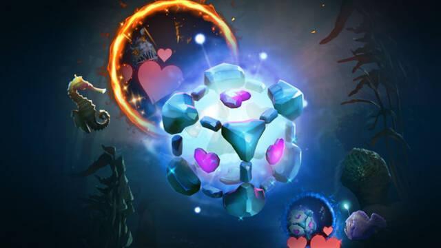 El cubo de compañía de Portal llega a Dota 2