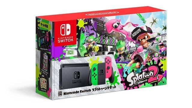 Nintendo Japón vende la caja vacía de Switch con Splatoon 2