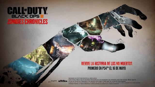 Call of Duty: Black Ops III presenta el tráiler de Zombies Chronicles