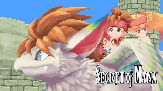 El regreso de Secret of Mana incluirá textos en español y valdrá 39,99 euros
