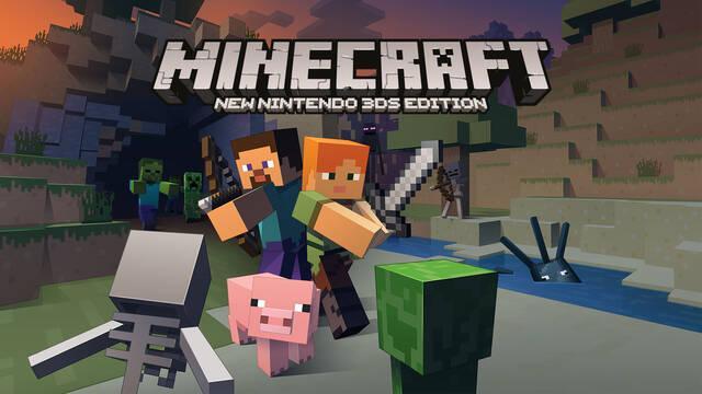 Minecraft en Nintendo 3DS tendrá efecto 3D con una actualización
