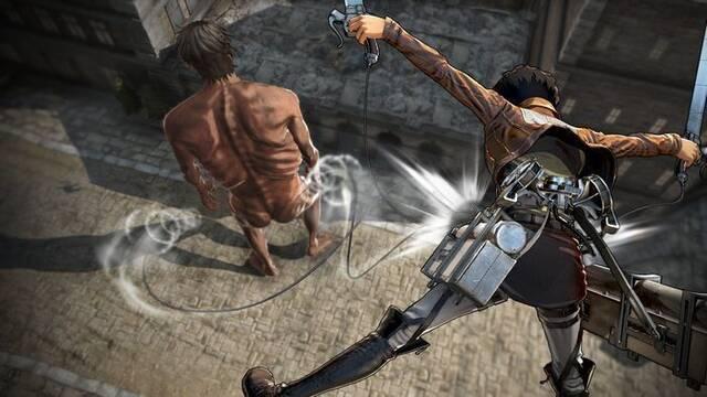 Nuevos detalles de Attack on Titan 2, el nuevo juego de Koei Tecmo