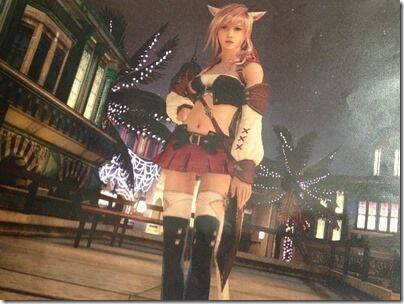 Lightning vestir� un traje de Final Fantasy XIV en Lightning Returns: Final Fantasy XIII