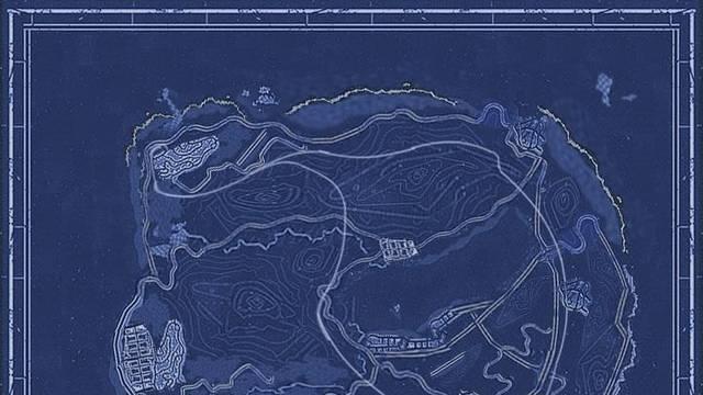 Así sería el mapa de Grand Theft Auto V