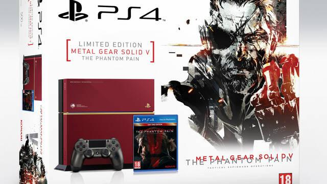 La PS4 Edición Limitada de Metal Gear Solid V: The Phantom Pain llegará a Europa